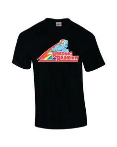 Reading Rainbow Dash  Brony MLP-FIM Fan Shirt  by TheAardvark