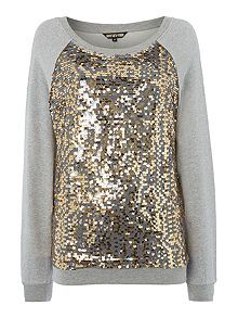 0a2a9189ad9f Biba Sequin front sweater My Christmas Wish List