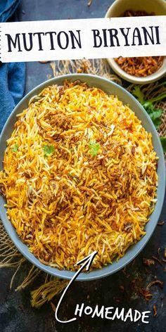 Goan Recipes, Rice Recipes, Indian Food Recipes, Real Food Recipes, Cooking Recipes, Ethnic Recipes, Yummy Recipes, Biryani Recipe, Recipe Steps