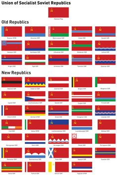 Flags of Soviet Europe by Regicollis.deviantart.com on @DeviantArt