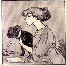 Thoughts on Toby Chien – Colette's muse, her beloved dog French Bulldog Art, French Bulldogs, American Bulldogs, Bulldog Images, Crazy Dog Lady, Photo Illustration, Illustrations, Happy Dogs, Vintage Images