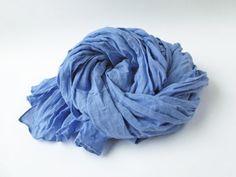 Sale Woven Linen Scarf Organic Fabric Gauzy Linen by LAEVIDESIGN, $29.00