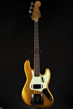 Fender Custom Shop 1962 Journeyman Jazz Bass - Frost Gold
