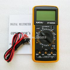 Now available at DIGDU: DT9205A  AC DC LC... Check it out here! http://www.digdu.com/products/dt9205a-ac-dc-lcd-display-professional-electric-handheld-tester-meter-digital-multimeter-multimetro-ammeter-multitester?utm_campaign=social_autopilot&utm_source=pin&utm_medium=pin