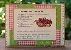 The Paper Landscaper: Recipe Cards