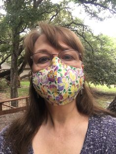 Womans Face Mask, Yellow and Purple Pansy Print, Dust & Travel Mask, Washable, Reusable Adult Female Four Layer Breathable Face Mask Wedding Sash, Fall Wedding, Wedding Venues, Wedding Venue Inspiration, Wedding Ideas, Printer Ink Cartridges, Space Wedding, Wedding Supplies, Engagement Couple