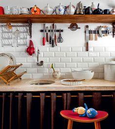 A cozinha da jurada Paola Carosella