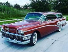 "GARAJ Klasik Oto on Instagram: ""1958 Buick Century Caballero Station Wagon . Tr de bulunan bir araç değil maalesef ama çok guzel. #garajklasikoto #klasikwagon #klasikbuick…"" Station Wagon, Movies Showing, Buick, Classic Cars, Bmw, Trucks, Vehicles, Instagram, Vintage Classic Cars"