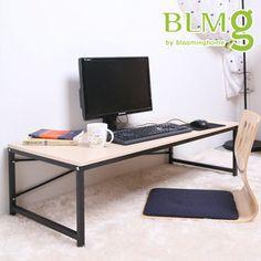 Gmarket - 심플좌식책상/H형/2단/컴퓨터/가구/책상/테이블