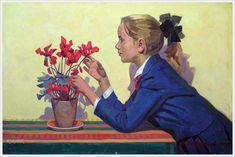 Баланивский Юрий Васильевич (1914-1980) «Цветы» 1960