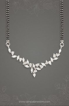 Modern Diamond Mangalsutra- Sampat jewellers signature style, Fancy Mangalsutra