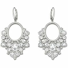 Chandelier earrings from Swarovski. Free shipping through 11/24/13.