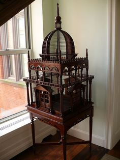 Bird Cage: Or possibly an architectural model.