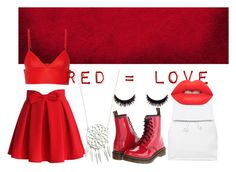 """""""red #3"""" by lallushka on Polyvore"""