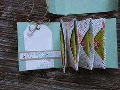 Kreativ am Deich : ..Teebeutel-Büchlein mit dem Envelope-Punch-Board...bebilderte Anleitung dazu...