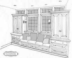 New Kitchen Window Seat Ideas Built Ins Ideas Bay Window Storage, Breakfast Nook Bench, Window Seat Kitchen, Window Benches, Window Table, Room Window, Kitchen Benches, Built In Cabinets, Diy Cabinets