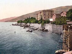 Abbazia, Hotel Quarnero - 1900.