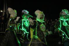 Ruim 20.000 bezoekers tijdens de 2e verlichte carnavalsoptocht in Emmer-Compascuum