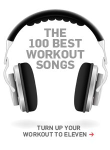 The 100 best workout songs of all time.
