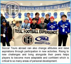 Rush Soccer, Ball Drawing, Mississippi, Challenges, Tours, Activities