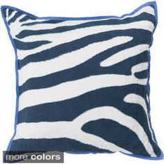 Decorative Danelli 18-inch Poly or Down Filled Throw Pillow | Overstock.com Shopping - The Best Deals on Throw Pillows