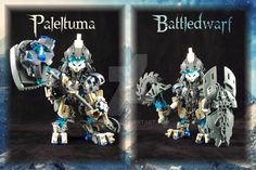 "Bionicle MOC: Paleltuma BattledwarfAmusingly enough, I was listening to ""Diggy Diggy Hole"" when I found this.SourceCreator: 3rdeye88"
