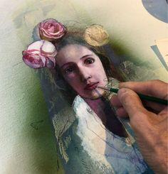 Katarína Vavrová-painting