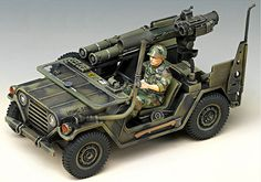 stylecolorful - NEW M151A2 Tow Missile Launcher 1/35 Academy Model Kit U.S Jeep Military