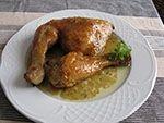 Pollo a la Sidra Te enseñamos a cocinar recetas fáciles cómo la receta de Pollo a la Sidra y muchas otras recetas de cocina.