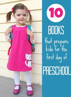 You may have already started school ( my daughter starts tomorrow! ) but even for the first few months checking in and talking about the transition with books really helps! If your child started preschool this year how did they do?