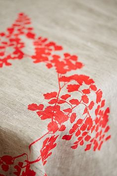 Table cloth | Anthropologie #Anthropologie #PinToWin #Thanksgiving