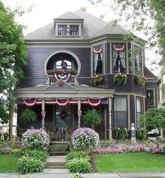 patriotic exterior