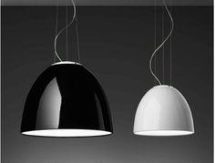 Artemide Nur Mini Fluorescent Gloss Suspension