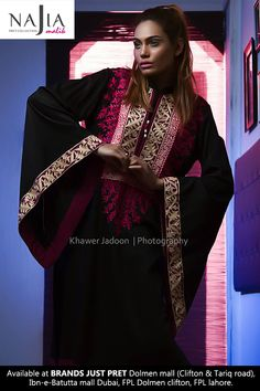 Najia Malik is a women wear fashion designer who has been working since year 2011. Najia Malik is one of those fashion designer who has gained a good response in a very short time period.