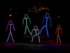 The Glowy Zoey stick figure LED costumes are perfect for a fun, different Halloween look! Cute Group Halloween Costumes, Chic Halloween, Family Costumes, Group Costumes, Halloween Outfits, Halloween Ideas, Zombie Costumes, Halloween Couples, Costume Ideas For Groups