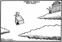 Cartoon tribute to Charles Schulz.. el mejor de todos los vistos