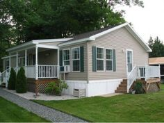 Porches For Double Wide Mobile Home Homes Porch