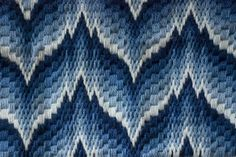 Bargello Needlepoint Pillowtop