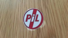 Public Image Limited PIL badge (red)