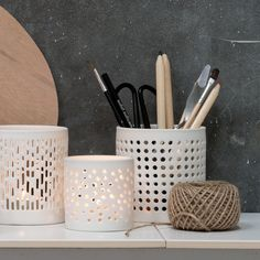 Anna appreciates the comfort of her cosy work space when gathering her creative thoughts. Tealight holder, prices from DKK 13,66 / EUR 1,94 / ISK 344 / NOK 19,60 / GBP 1,84 / SEK 19,40