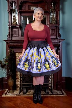 Pinup Couture Allison Dress in Witch Transformation | Pinup Girl Clothing