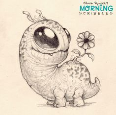 Think spring!   #moringscribbles