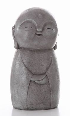 Lucky Japanese Jizo Smiling
