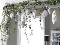 Новогодний декор в серебре и белом | Умелые ручки