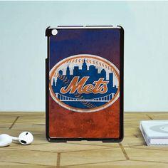 New York Mets Texture iPad Mini 2 Case Dewantary