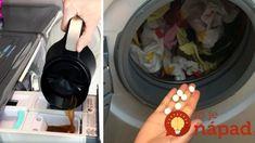 Budete ľutovať, že ste ich pri praní neskúsili skôr: 13 lacných trikov babičiek, ktoré perfektne fungujú aj dnes! Deco, Washing Machine, Home Appliances, Youtube, Bottle, House Appliances, Deko, Appliances, Dekorasyon