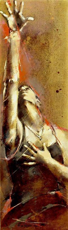 Marion van Nieuwpoort (Dutch artist) 1950 - 2008 -Bare Footed, High Heels-17, 2006