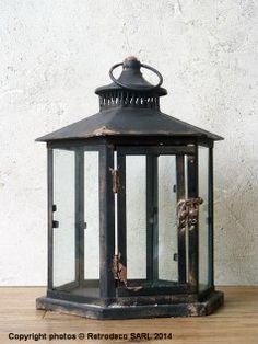 Lanterne Kiosque, déco brocante, Chehoma