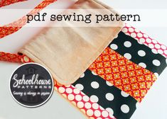 The Varsity Patchwork Messenger Bag – Sew and Sell Bag Patterns To Sew, Sewing Patterns Free, Quilting Patterns, Easy Sewing Projects, Sewing Tutorials, Sewing Ideas, Quilted Handbags, Patterned Sheets, Love Sewing