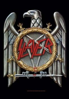 Slayer Eagle Fabric Poster